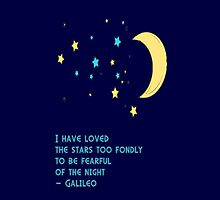 Galileo Stars Quote iPhone iPod by wlartdesigns