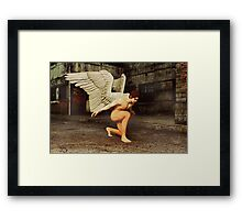 Angel in The City Framed Print