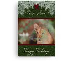Cub's Safe Place for the Holidays Canvas Print