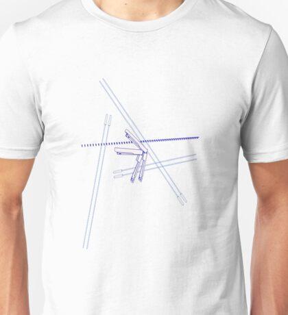 Bakemonogatari Staplers (Textless Unisex T-Shirt