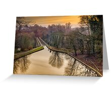 Chirk Aqueduct Greeting Card