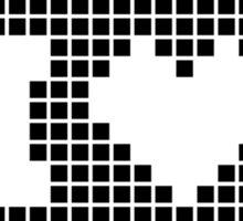 I love Pixels Graphic Designer's T-Shirt Sticker