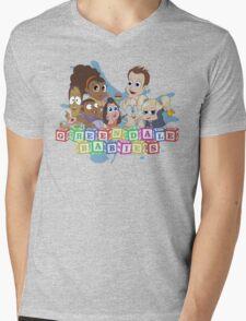 Greendale Babies Mens V-Neck T-Shirt