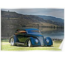1937 Ford 'Vicky' Poster