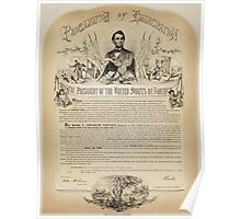 B. B. Russell & Co. copy of the Emancipation Proclamation Poster