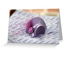 Hat in Miniature : 1x12th scale Greeting Card