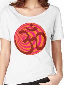 Om Symbol T-Shirt Women's Relaxed Fit T-Shirt