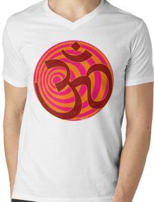 Om Symbol T-Shirt Mens V-Neck T-Shirt