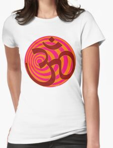 Om Symbol T-Shirt Womens Fitted T-Shirt
