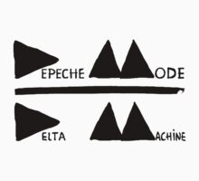 Depeche Mode : Logo Delta Machine 2013 black by Luc Lambert