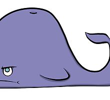 Grumpy Whale by ashraae