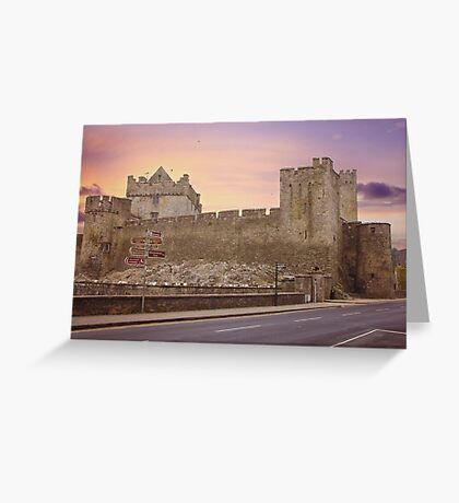 Cahir Castle, County Tipperary, Ireland Greeting Card