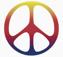 Peace Symbol T-Shirt  by mindofpeace
