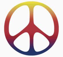 Peace Symbol T-Shirt  Kids Tee