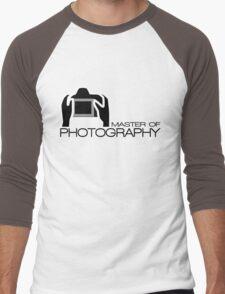 Master Of Photography T-Shirt Men's Baseball ¾ T-Shirt