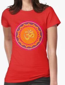 Om Symbol T-Shirt-2 Womens Fitted T-Shirt