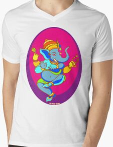 Ganesh T-Shirt Mens V-Neck T-Shirt