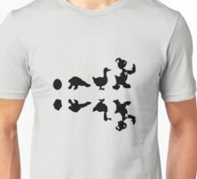 evolution of donald duck Unisex T-Shirt