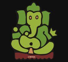 Green Ganesh T-Shirt Kids Clothes