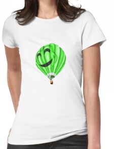 Floating Away Womens Fitted T-Shirt