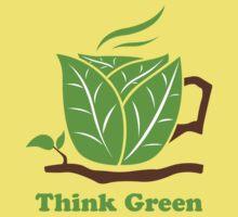 Think Green T-Shirt Kids Clothes