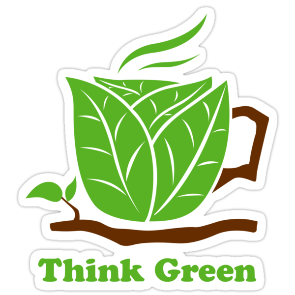 Think Green T-Shirt by mindofpeace