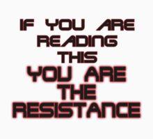 Resistance Kids Tee