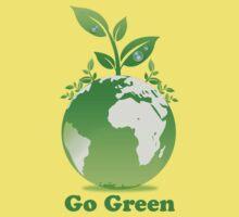 Go Green T-Shirt Kids Clothes