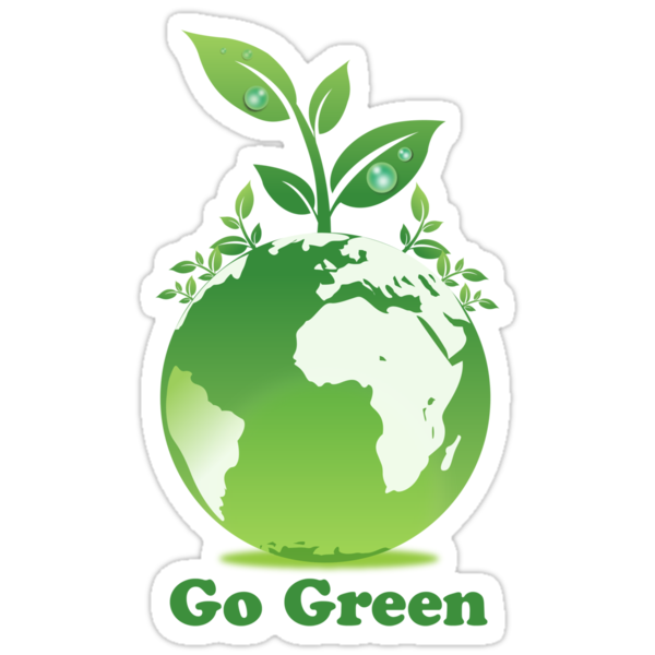Go Green T-Shirt by mindofpeace