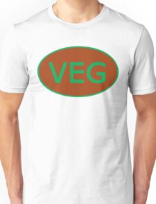 Vegan Vegetarian Symbol T-Shirt Unisex T-Shirt