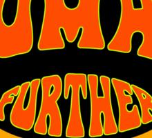 FurTher Human T-Shirt Sticker