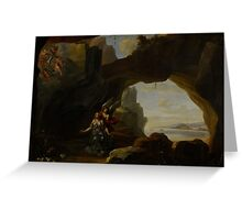 The Magdalen in a Cave, c.1650 Greeting Card
