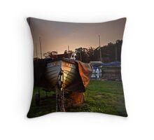 Norfolk Boat Throw Pillow