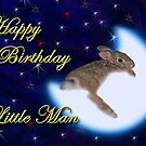 Birthday Little Man Bunny Rabbit by jkartlife