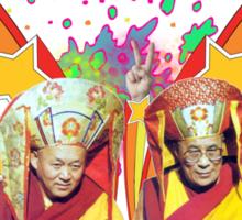 Dali Lama Spiritual Unity T-Shirt Sticker