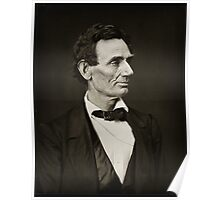 Hesler photographs of Lincoln Poster