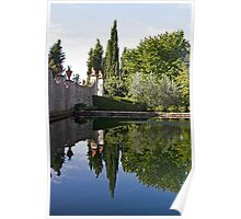 Tuscan Reflections Poster
