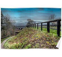 Welsh Aqueduct Poster