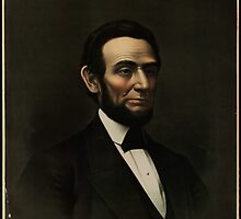 Kurz & Allison portrait of Abraham Lincoln by Adam Asar