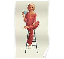morning girl Poster