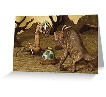 Fierce Creatures Greeting Card