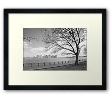 View of Manhattan Framed Print