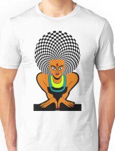 Psychedelic Desi Indian T-Shirt  Unisex T-Shirt