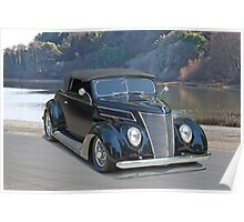 1937 Ford Convertible Coupe Poster