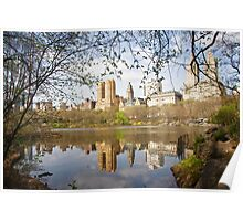 Reflections of New York Poster
