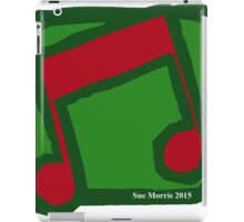 Eighth Note Red V iPad Case/Skin