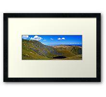 Sharp Edge & Scales Tarn Framed Print
