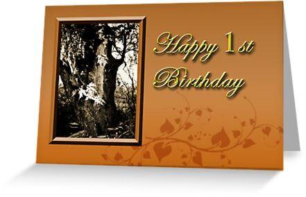 1st Birthday Willow Tree by jkartlife