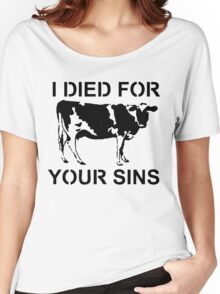 I Died Sins T-Shirt Women's Relaxed Fit T-Shirt