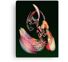 Fractal - Parrot Canvas Print